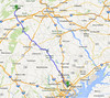 Saturday, July 27, our house in Baltimore to Colonel Denning State Park. 94.4 miles, 10.8 mph.