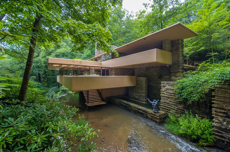 Falling Water, from the bridge