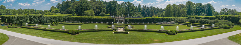 The formal garden at Longwood Gardens
