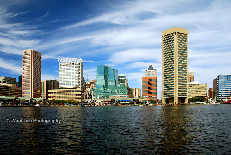 Waterfront, Inner Harbour, Baltimore