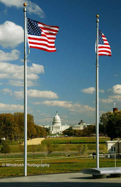 Capitol Building from Washington Monument