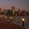 Baltimore's Inner Harbor Morning