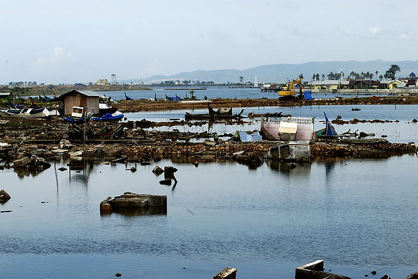 Even in May 2007, devastation caused by the 2004 Tsunami is still evident.