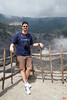 Yanick at the upper crater of the Tangkuban Perahu volcano.<br /> IMG_0154