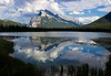 Vermillion Lake, practically bordering the town of Banff to the west and easily seen from Highway 1.