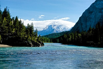 Bow River Banff National Park Alberta