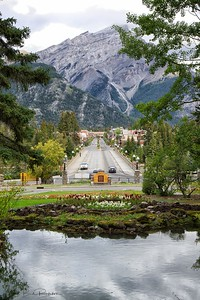 Downtown Banff Alberta