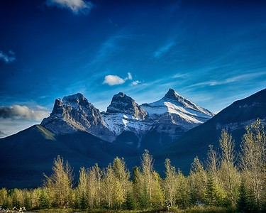Three Sisters Canmore Alberta