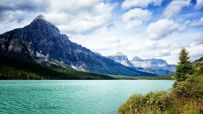 Upper Waterfowl Lake       Icefields Parkway Alberta