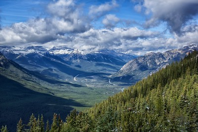 Bow River Valley Banff National Park