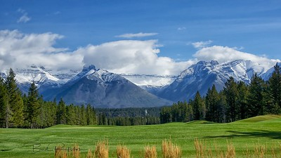 Banff Springs Golf Course Banff, Alberta