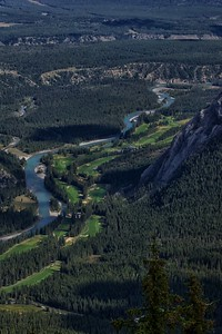Banff Springs Golf Course Bow River Banff, Alberta