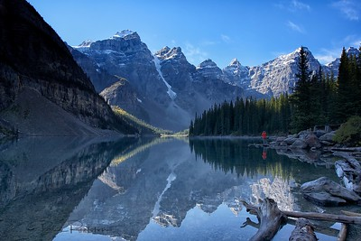Moraine Lake Banff National Park Alberta