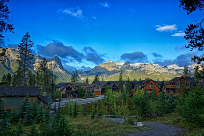 Canmore neighborhood Alberta