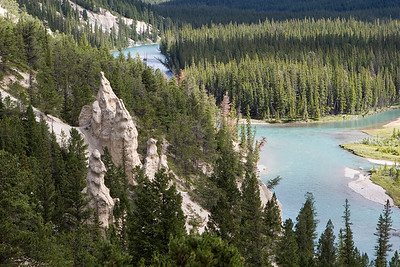 Hoodoos, Bow River Valley