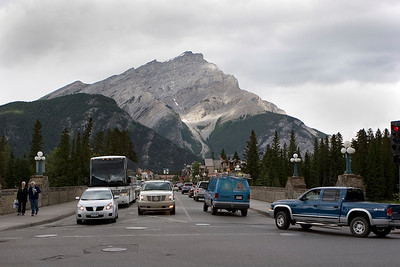 Banff Avenue, Mt Norquay