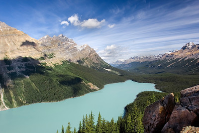 Peyto Lake and Mistaya Valley