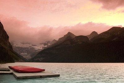 Lake Louise Sunset