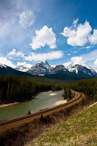 Railway tracks at Banff