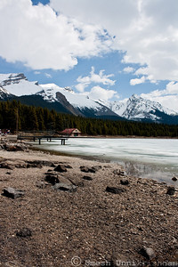 Frozen Lake Maligne