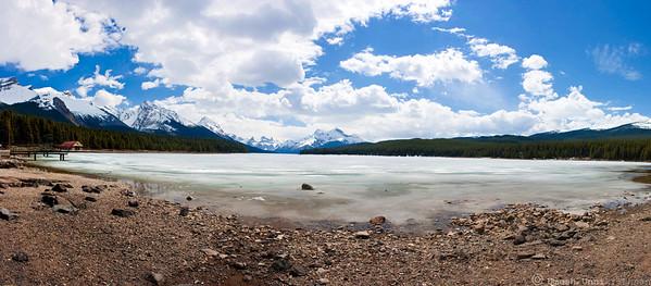 Lake Maligne Panorama