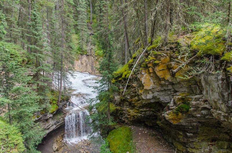 Johnston Canyon trail #banff #landscape #overlook