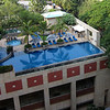 The pool at ITC. Someday I'll sit by that pool