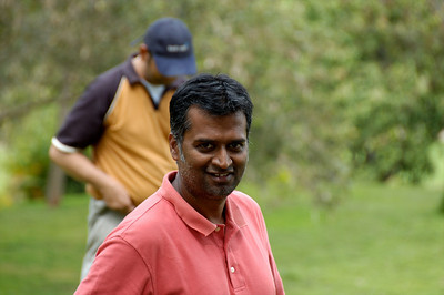 Golf with Krish.  I paid $10 for a caddy who gave me the best lesson ever...