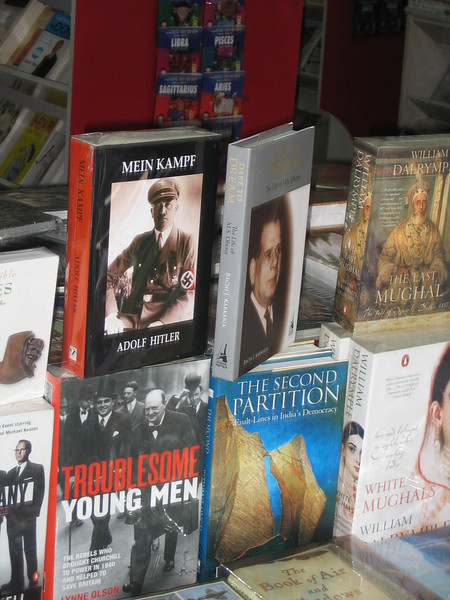 You can buy Mein Kampf (in English) in Bangalore. Charming.