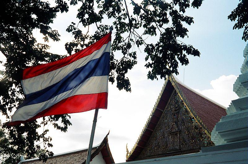 Temple at top of Koh San Road