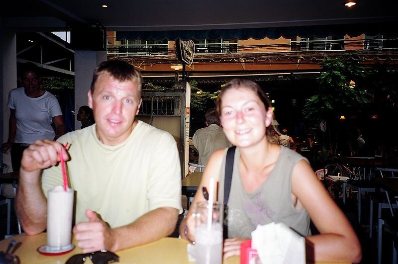 Helen and boyfriend, New Siam