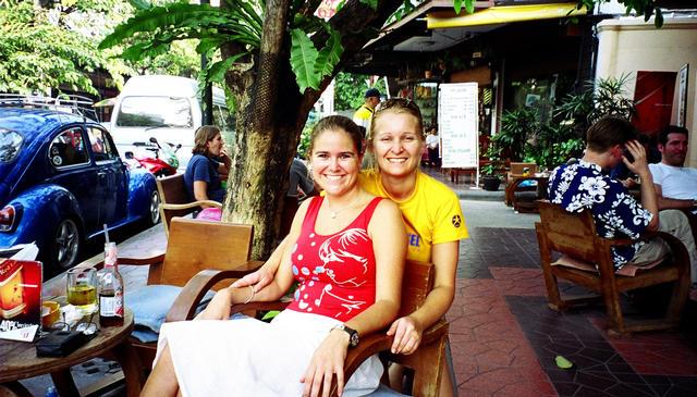Me and Bianca Rambutri Road  (Ko San)