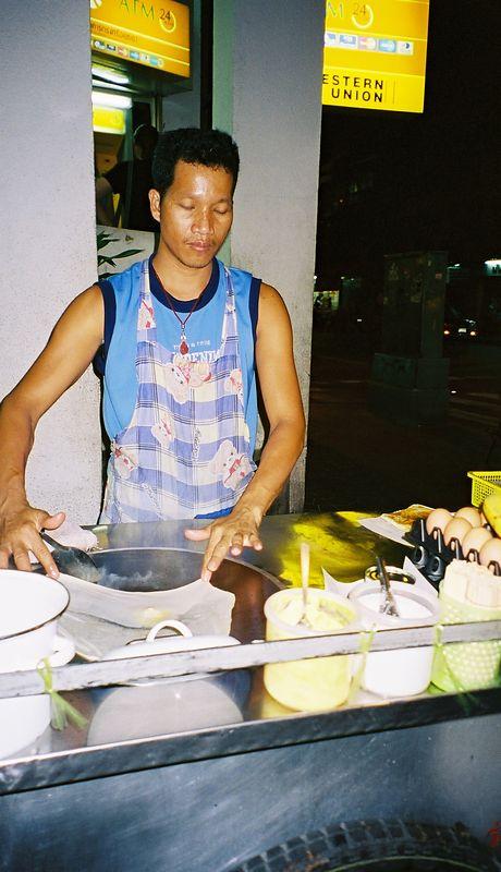 Banana Pancake stall - yummy!