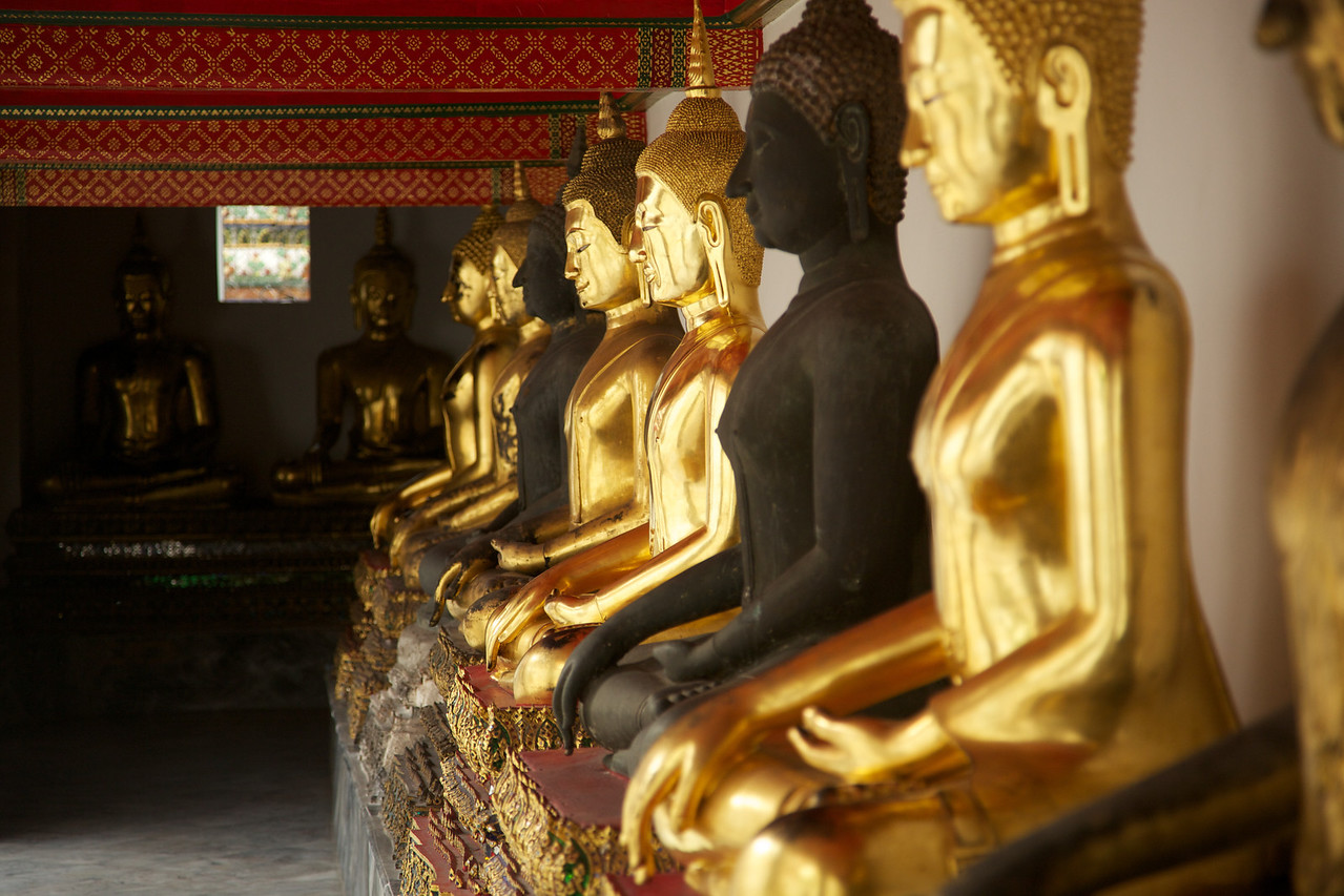 Wat Pho temple is the oldest Wat in Thailand.