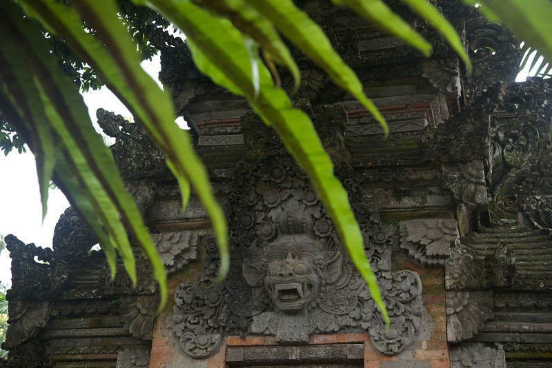 Royal palace in Ubud