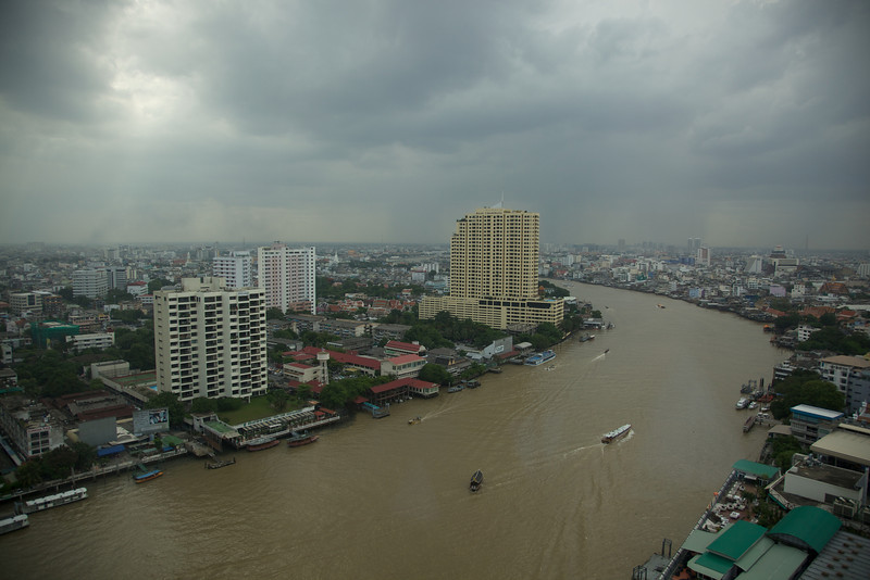 Bangkok from our hotel window.