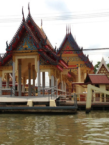 A wat along the canal