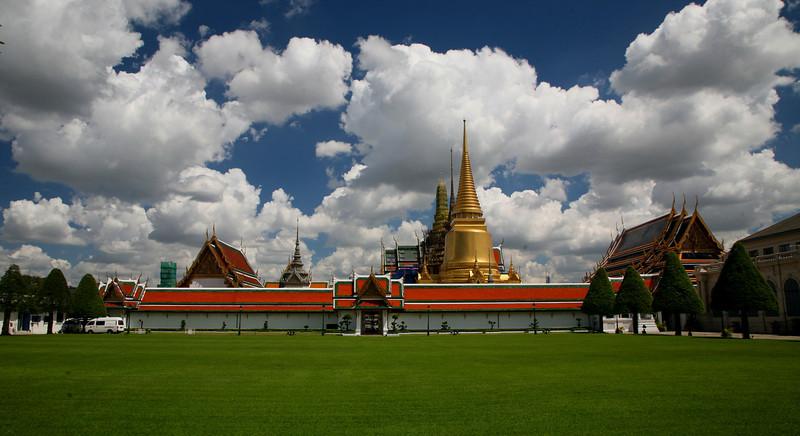 Bangkok's Grand Palace dates from 1782.