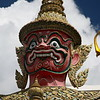 27-foot-high Yaksa temple guard.