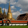 Prang, mondop, chedi, and the Temple of the Emerald Buddha.
