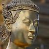 Half-woman, half-bird kinnaras guard Wat Phra Kaeo.