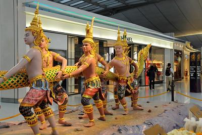 Samudra Manthan at Suvarnabhumi Bangkok International Airport, Thailand.