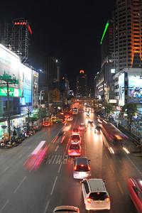 Outside Pantip Plaza, the computer store. Bangkok, Thailand