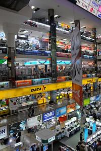 Inside Pantip Plaza, the computer store. Bangkok, Thailand