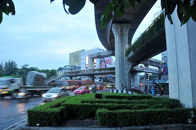 At Victory Monument Bangkok, Thailand.