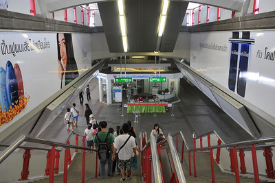 Siam Paragon, station. Bangkok, Thailand