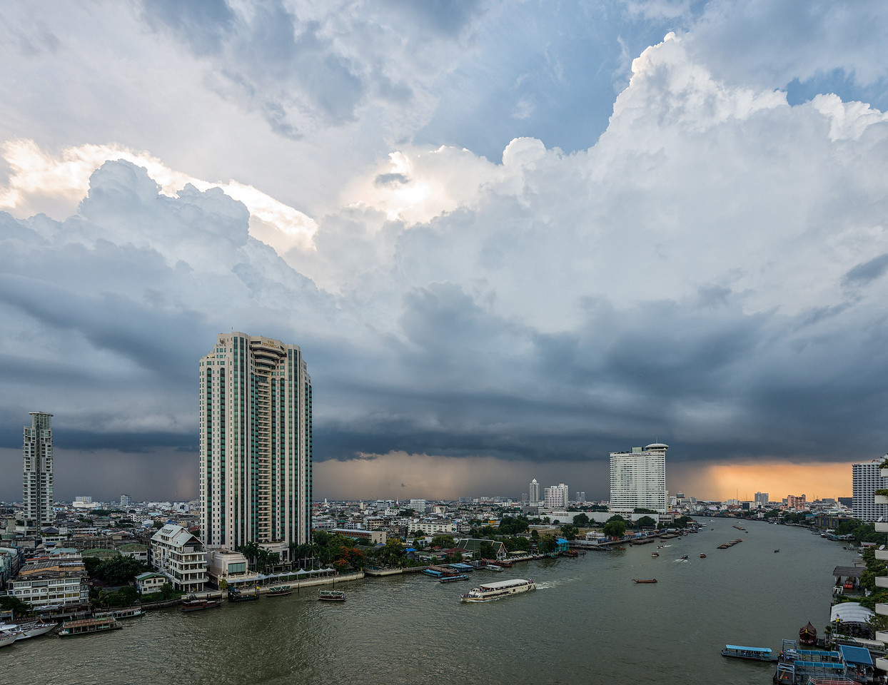 Storm Clouds over the Chao Praya