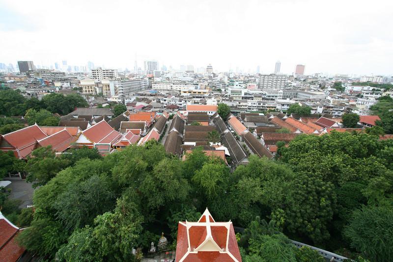 View from Wat Saket