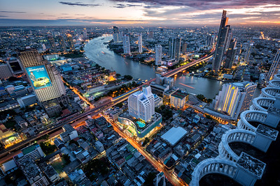 The lights of Bangkok