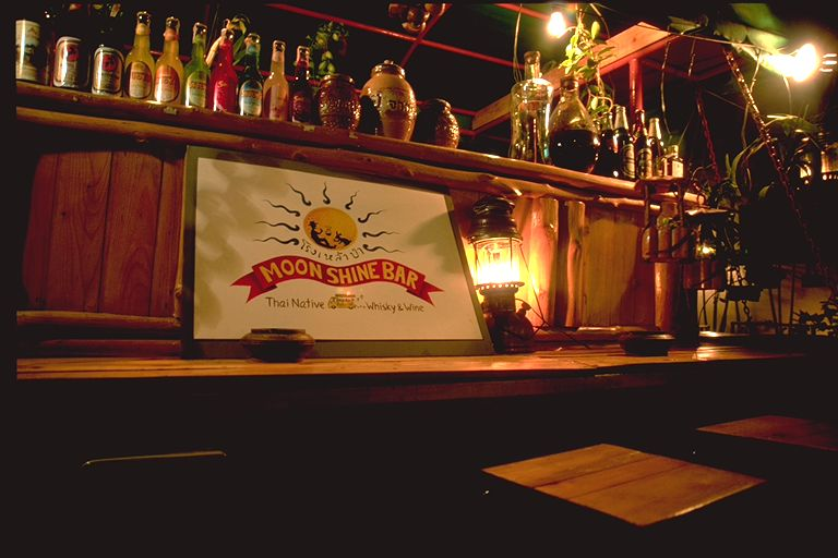 Moonshine Bar in Bangkok, Thailand